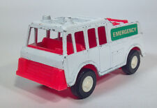 Tootsietoy 1970s Fire Engine Rescue Truck Emergency Die Cast Scale Model