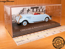 CHENARD & WALCKER AIGLE 22 1936 1:43 WITH BOX ART!!!