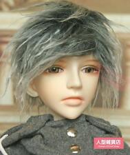 BJD doll wig hair 8-9 inch 20-22cm 1/3 BJD DOLL SD Fur Wig Dollfie Grey
