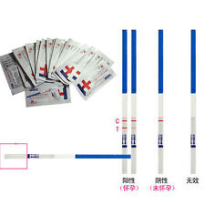 New Lot of 10 Home Early Pregnancy Test Strips 5 Minute Results YUUK