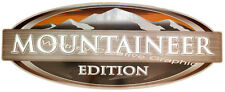 """MONTANA MOUNTAINEER EDITION LOGO RV DECAL  White letter version 28""""x11.5"""""""