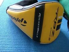 TaylorMade Rocketballz RBZ Stage 2 Driver Head Cover Headcover Very Nice     (A)