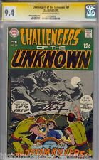 CHALLENGERS OF THE UNKNOWN #67 CGC 9.4 NEAL ADAMS SS 1 OF1 CGC #1151500009