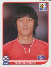 N°161 PARK CHU-YOUNG # KOREA REPUBLIC STICKER PANINI WORLD CUP SOUTH AFRICA 2010