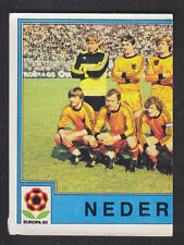 Panini - Europa 80 - # 57 Nederland Team Group