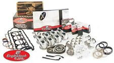 Small Block Chevy 283 4.6L Engine Rebuild Overhaul kit Flat tops Double roller