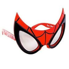 Spider-Man Sunstaches Sunglasses - Super Hero Shades you can Save the World