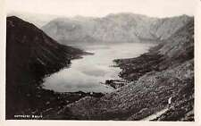Montenegro Kotorski Zaliv Kotor Bay Scenic View Real Photo Postcard J63648