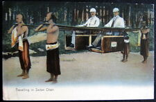 CHINA ~ 1900's HONG KONG ~ Travelling in Sedan Chair ~