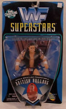 WWE WWF Best of 1997 - The British Bulldog with Exclusive Vest by Jakks (MOC)