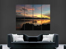 KOH SAMUI THAILAND BEAUTIFUL SUNSET ART WALL LARGE IMAGE GIANT POSTER !!!
