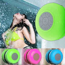 New Wireless Bluetooth Waterproof Shower Mini Music Speaker Stereos Handsfree
