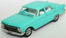 Diecast Car Model 1965 Ford XP Falcon Teal Custom Wheel LIMITED Edition Size1:18