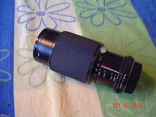 Vivitar Macro Focusing Zoom Lens 62mm, 75-205mm, 1:3.8  Pentax SLR Film Camera