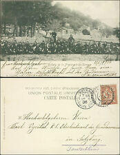 1906 Smyrne French Post Office Turkey postcard cover to Police Officer Germany