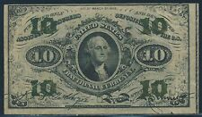 #Fr1255 10¢ Us Fractional Currency Xf Br4706