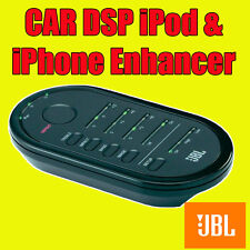 JBL AUTO DSP iPod iPhone Android Phone MP3 PLAYER STEREO Sound Enhancer AMMENDANTE