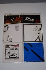 "U2-4 U2 Play-4x7""-Three, I Will Follow, New Years Day, 11 O Clock Tick Tock"