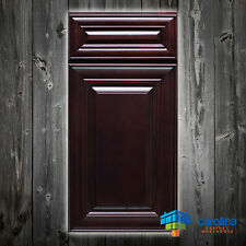 All Solid Wood RTA Cabinet Sample Door, Wood kitchen Cabinets, Color: Merlot