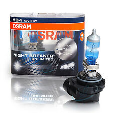 OSRAM hb4 p22d NIGHT BREAKER Unlimited plus 110% más de luz 2st. - 9006nbu