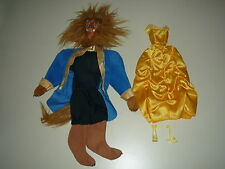 VINTAGE beauty and the beast outfits 1992 Mattel Belle et la bête Barbie Ken