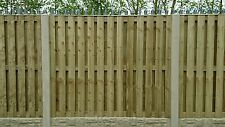 10 Section Concrete And Wood Fencing Packs For 6 Feet High Fence £350.00