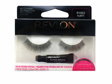 REVLON FALSE EYE LASH LASHES EYELASHES EYELASH FLIRTY 91003 BLACK