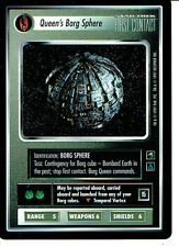 STAR TREK CCG FIRST CONTACT RARE CARD QUEEN'S BORG SPHERE