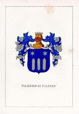 Araldica Stemma araldico della famiglia Palizzolo di Palermo