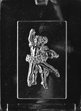 BALLERINA BAR mold plaster soap Chocolate Candy party favor ballet dance boy