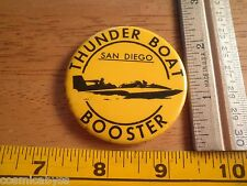 1970s Power boat racing button Thunderboat Booster