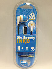Skullcandy Ink'D In-Ear Buds Headphones w/Mic Headset (Marseille White/Blue) NEW
