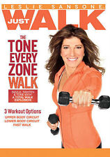 Leslie Sansone: The Tone Every Zone Walk New DVD! Ships Fast!