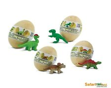 Baby Dino Figuren in Ei Set (4 Stück) Dinosaurier Safari Ltd 90075