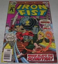 IRON FIST #5 (Marvel Comics 1976) 1st appearance SCIMITAR (FN) John Byrne art