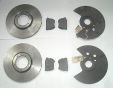 ROVER P4 FRONT BRAKE DISCS, DISC PADS AND DISC SHIELDS NEW NOS