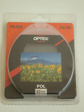 Optex 82mm Polarizing Camera Filter New & Sealed Polarising Nikon Canon Sony