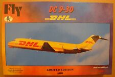 """FLY KITS  DC-9-30 """"DHL""""   NEU!!  1:144 LIMITED of 500 pieces!!"""