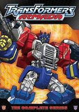 TRANSFORMERS ARMADA - The Complete Series (8 Disc Set!) DVD [V46]