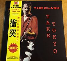 THE CLASH, TAKE TOKYO - 180G YELLOW COLORED 2 LP VINYL SET, GATEFOLD JACKET, NEW