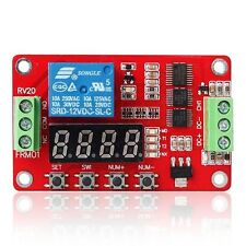 New 12V Relay Cycle Timer Module * PLC Home Automation Delay Multifunction