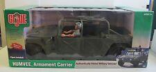 MIB 2003 HASBRO STANDARD TAG GI JOE HUMVEE ARMAMENT CARRIER & WWII SAILOR FIGURE