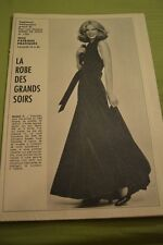 """ MODES de PARIS "" PATRON SUPPL. DU N°1558 // ROBE DES GRANDS SOIRS T 42 A 46"