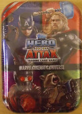 Marvel Hero Attax Cinematic ~ Collectors Tin Inc 24 Cards & Limited Edition