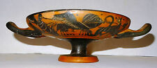 KYLIX GREC A FIGURES NOIRES - 500 AVT JC - GREEK ATTIC BLACK FIGURE KYLIX 500 BC