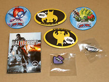 Battlefield 4 Magnet / Skylanders Trap Team Button Anstecker Pin Need for Speed