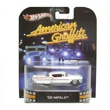 hotwheels 1/64 - retro movie - 58 impala - american graffiti