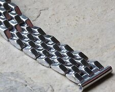 Pyramid link 1950/60s vintage watch band u pick 15.5mm 16mm 17mm 17.3mm 18mm end