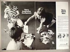Mr. Gator, Mr. Amby Toys 2-Page PRINT AD - 1967 ~ Multiple Toymakers