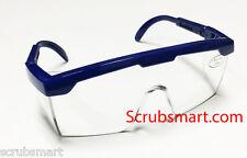 #411 - 12 PACK LOT BLACK Adjustable Eye Protection Lab Safety Glasses US SELLER